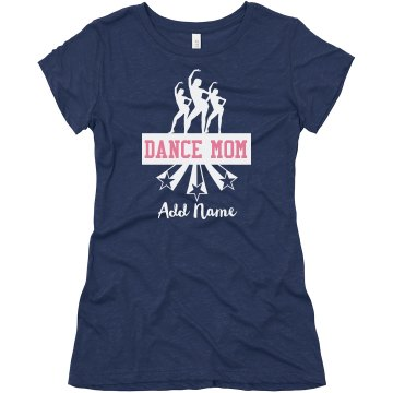 Dance Mom Stars Junior Fit Bella Triblend Tee