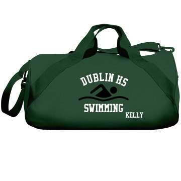 Dublin HS Swimming Bag Liberty Bags Barrel Duffel Bag
