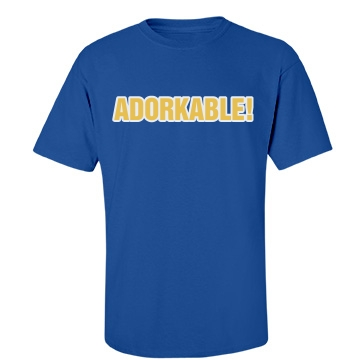 Adorkable Text Tee Unisex Port