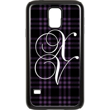 Quinceanera Plaid Rubber Samsung Galaxy S III Case Black