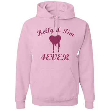 Kelly & Time 4EVER Unisex Gildan Heavy Blend Hoodie