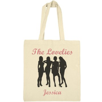 The Crew Personalized Bag Liberty Bags Canvas Bargain Tote Bag