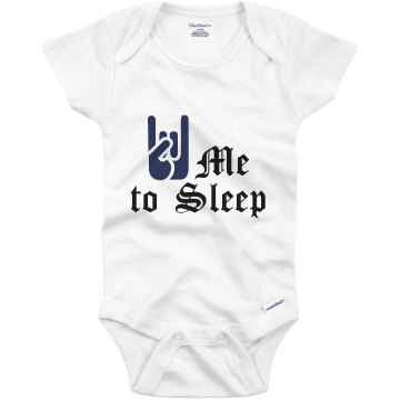 Baby Rock Me to Sleep Infant Gerber Onesies
