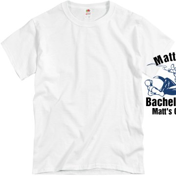 Matt's Bachelor w/ Back Unisex Basic Gildan Heavy Cotton Crew Neck Tee