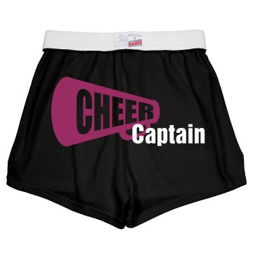 Cheer Captian Pink Soffe Junior Fit Soffe Cheer Shorts