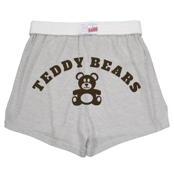 Teddy Bears Soffe Short Junior Fit Soffe Cheer Shorts