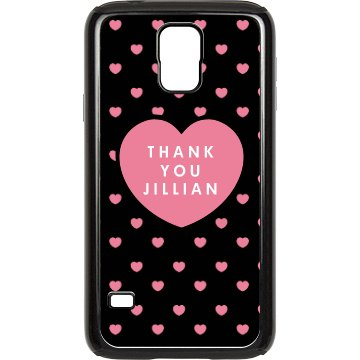 Thank Someone Special Rubber Samsung Galaxy S III Case Black