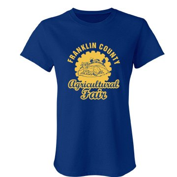 Agricultural Fair Junior Fit Bella Favorite Tee