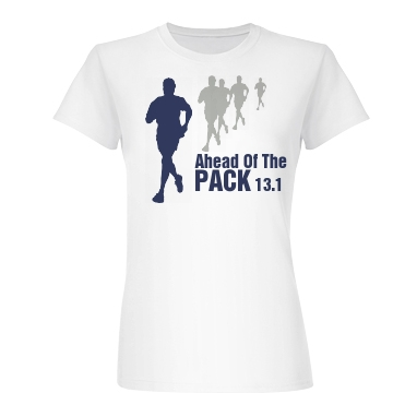 Ahead Of The Pack 13.1 Junior Fit Basic Bella Favorite Tee
