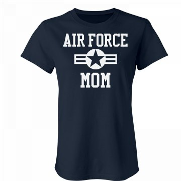 Air Force Girlfriend Star Junior Fit Bella Favorite Tee