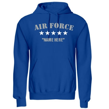Air Force Love Unisex Gildan Heavy Blend Hoodie