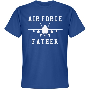 Air Force Military Pride Unisex Anvil Lightweight Fashion Tee
