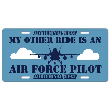 Air Force Pilot Ride