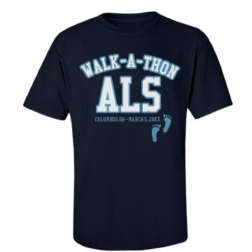 ALS Walk Unisex Gildan Heavy Cotton Crew Neck Tee