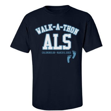 ALS Walk Unisex Port & Company Essential Tee