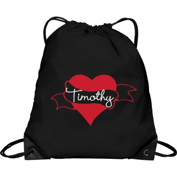 Always & Forever Bag Port & Company Drawstring Cinch Bag