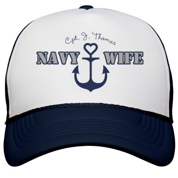 Anchor Navy Wife