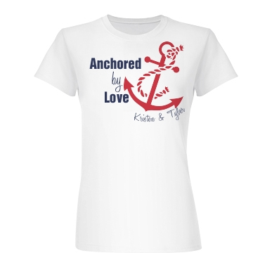 Anchored By Love Junior Fit Basic Bella Favorite Tee