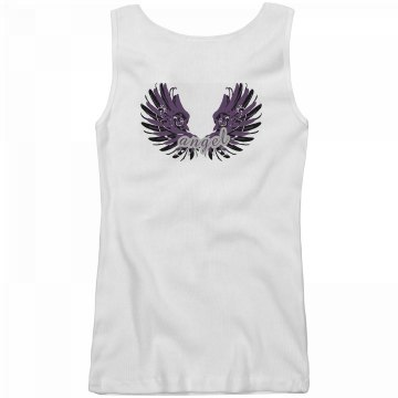 Angel Shirt Junior Fit Basic Bella 2x1 Rib Tank Top