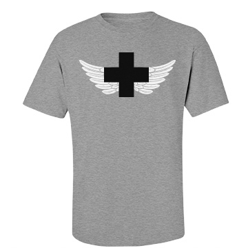 Angelic Paramedic Unisex Gildan Heavy Cotton Crew Neck Tee