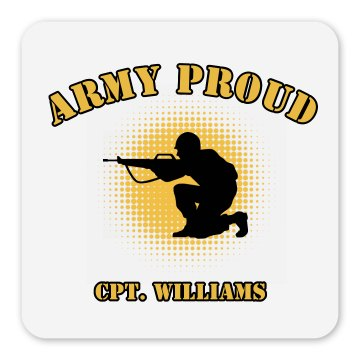 Army Proud Magnet