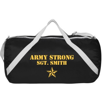 Army Strong Military Bag