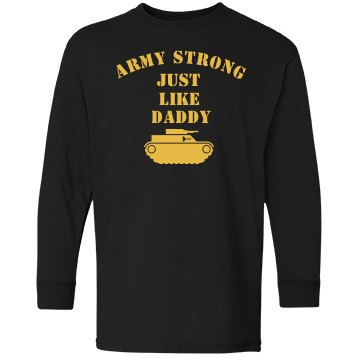 Army Strong Son w/ Back