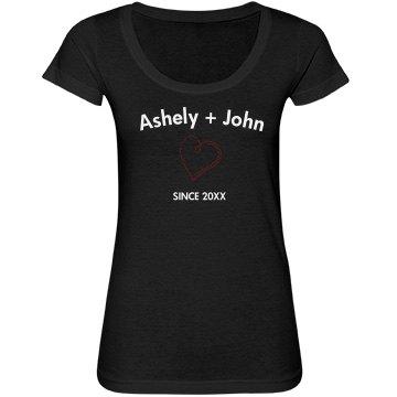 Ashley + John Stones