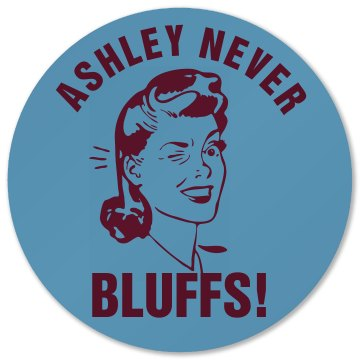 Ashley Bluffs At Poker