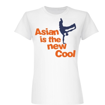 Asian Is the New Cool Junior Fit Basic Bella Favorite Tee