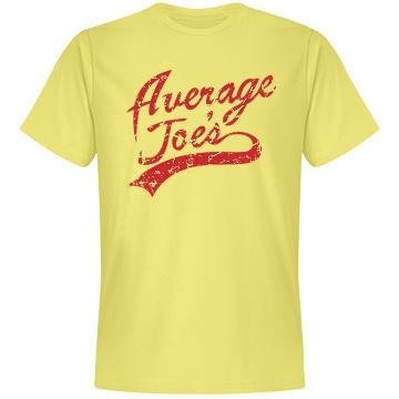 Average Joes Dodgeball Unisex Anvil Lightweight Fashion Tee