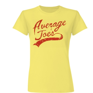 Average Joes Junior Fit Basic Bella Favorite Tee