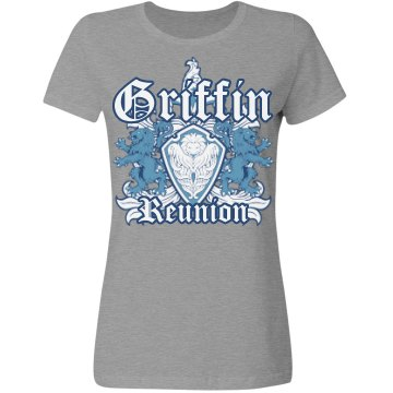 Griffin Shield Misses Relaxed Fit Gildan Ultra Cotton Tee
