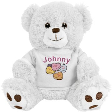 Johnny, My Valentine Plush Bulldog