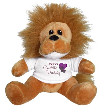 Cuddle Buddy Plush Lion