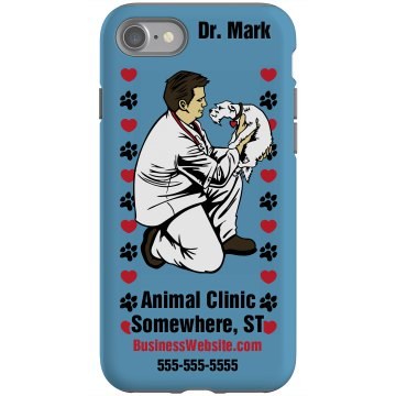 Animal Care iPhone Cover Rubber iPhone 4 & 4S Case Black