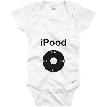 iPood Onesie Infant Gerber Onesies
