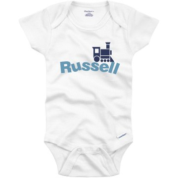 Train Onesie Infant Gerber Onesies