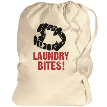 Laundry BITES Port Authority Laundry Bag
