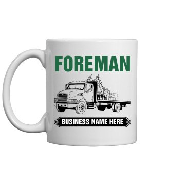 Crew Foreman Mug 11oz Ceramic Coffee Mug