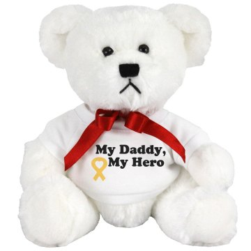 My Daddy And Hero Medium Plush Teddy Bear