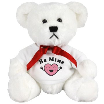 Be Mine Medium Plush Teddy Bear