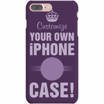 Customize iPhone 5 Cases Plastic iPhone 5 Case Black