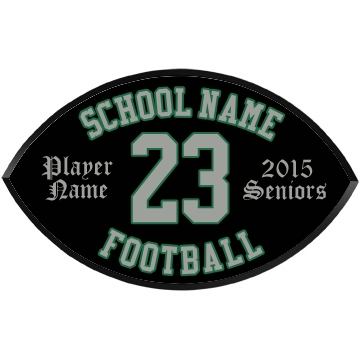 Seniors Football Football Wood Plaque