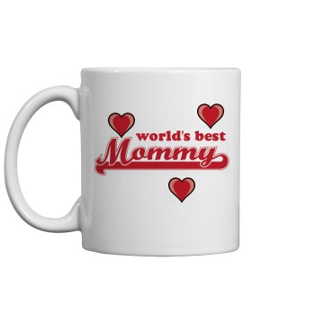 World's Best Mommy Mug 11oz Ceramic Coffee Mug