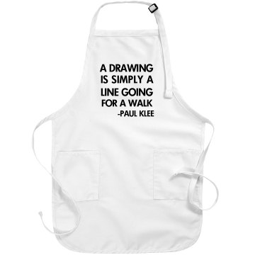 Art Teacher Apron Port Authority Adjustable Full Length Apron