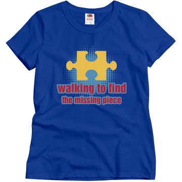 Walking To Find Misses Relaxed Fit Gildan Ultra Cotton Tee