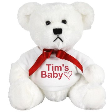 Tim's Baby Medium Plush Teddy Bear