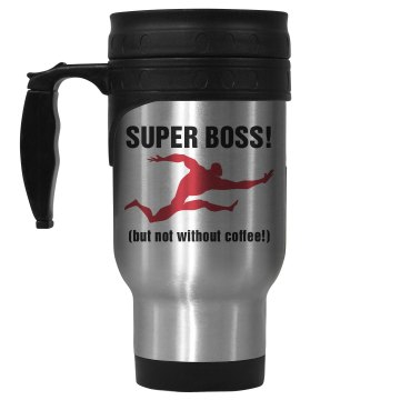 Super Boss 14oz Stainless Steel Travel Mug