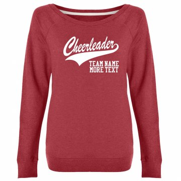 High School Cheer Crew Unisex Gildan Heavy Blend Sweatshirt